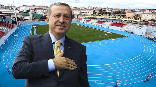 Tesisin açılışını Cumhurbaşkanı Erdoğan yaptı.