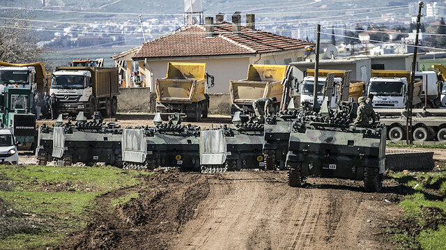 Turkey's deployment of reinforcements to observation points in Syria's Idlib