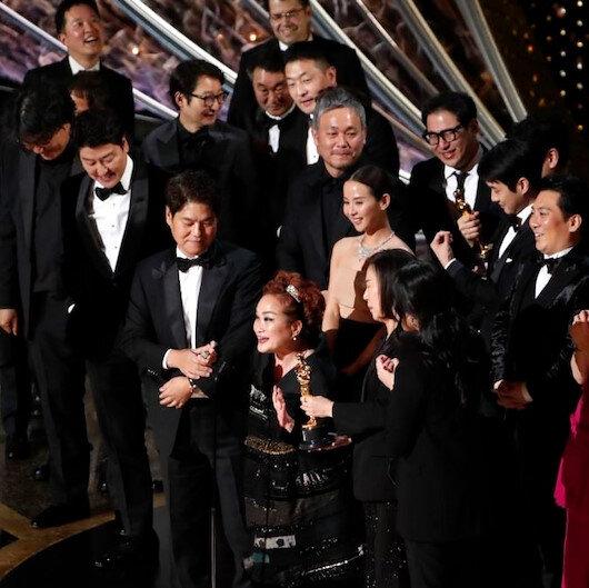 لأول مرة في التاريخ.. فيلم كوري جنوبي يفوز بأوسكار أفضل فيلم