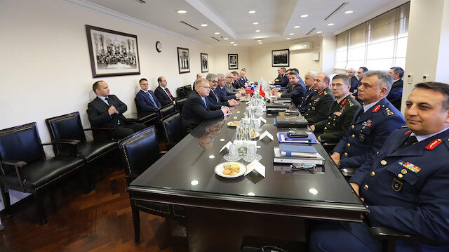 Turkish and Russian delegations' meeting in Ankara