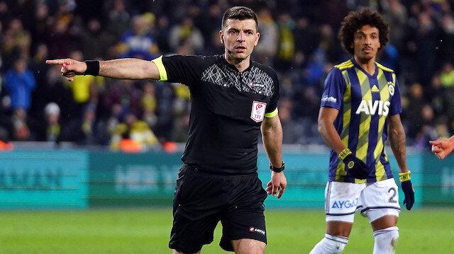 Ümit Öztürk verdiği kararlarla, Fenerbahçe-Alanyaspor maçının önüne geçmişti.