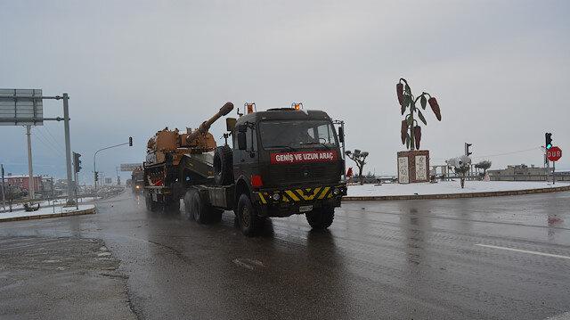 الجيش التركي يرسل تعزيزات جديدة إلى الحدود مع سوريا