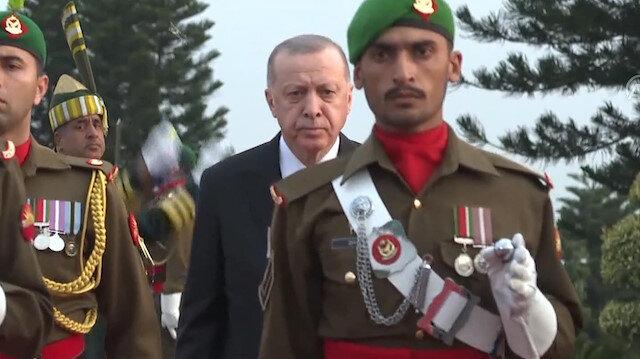 Pakistan welcomes Turkey's Erdoğan with official ceremony