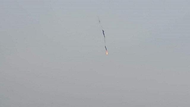 إسقاط طائرة مروحية للنظام بريف حلب الغربي شمالي سوريا