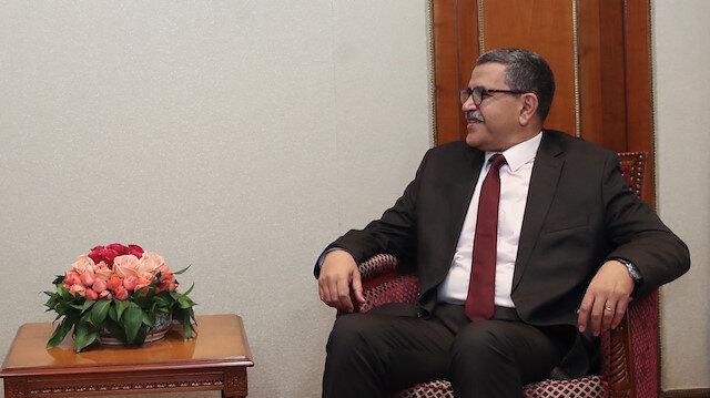 Algeria's Prime Minister Abdelaziz Djerad
