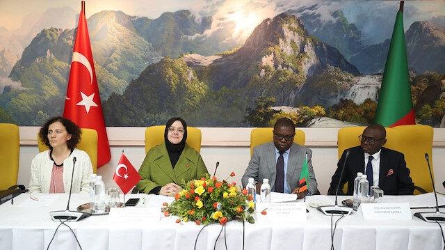 وزيرة تركية: نهدف لتعزيز العلاقات مع زامبيا