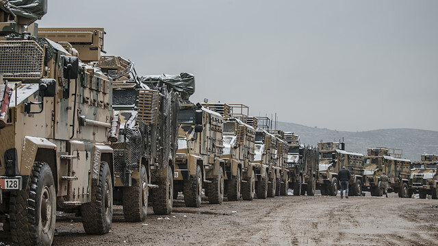 Turkey continues to deploy reinforcements to border units