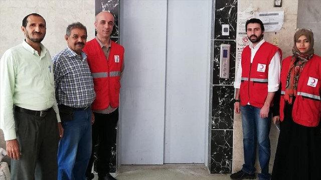 تركيا تدشن مصعدا كهربائيا لمرضى السرطان في مشفى بعدن اليمنية