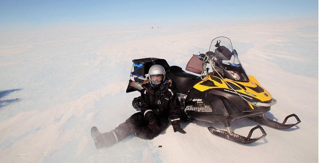 Türk bilim insanı Antarktika'dan 10 bini aşkın mikrometeoritle döndü