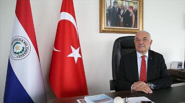 سفير باراغواي: زيارة أردوغان علامة فارقة بالعلاقات الثنائية