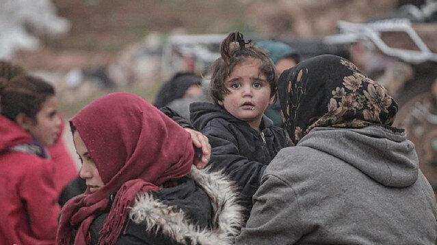 كارثة إنسانية كبيرة ومنظمات توجّه نداء عاجلا لإغاثة مليون نازح من إدلب معظمهم أطفال