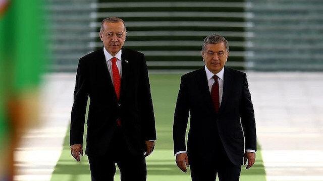 الرئيس الأوزبكي يزور تركيا الأربعاء تلبيةً لدعوة أردوغان