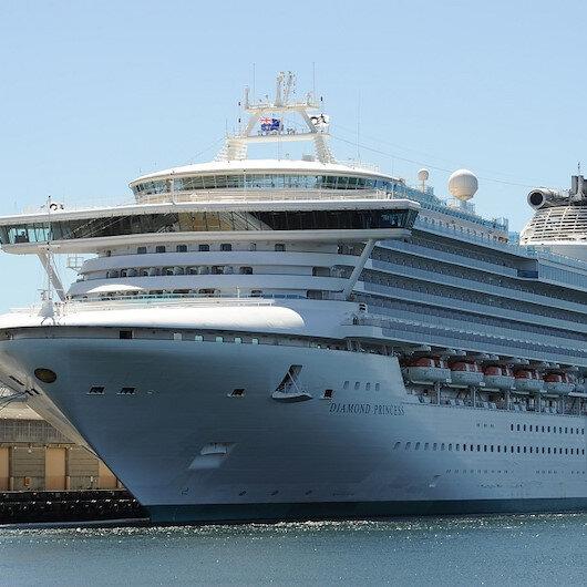 """اليابان.. ركاب سفينة """"أميرة الماس"""" السياحية بدأوا بمغادرتها"""