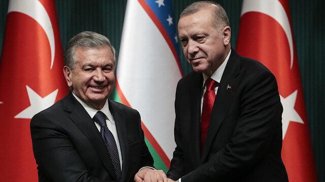 أردوغان: هدفنا رفع التجارة مع أوزبكستان إلى 5 مليارات دولار