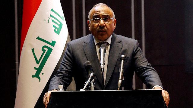 Iraq's caretaker Prime Minister Adel Abdul-Mahdi