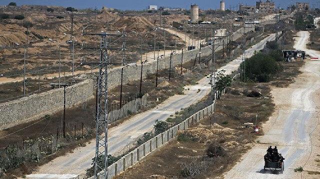 مصر تبدأ بناء جدار خراساني على حدود غزة