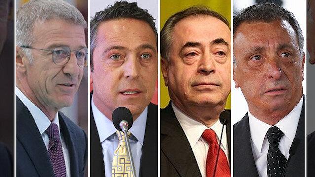 'Dört Büyükler'in başkanları bir araya geldi