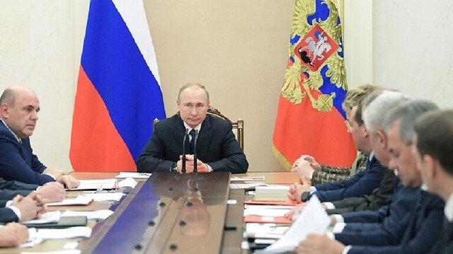 الأمن القومي الروسي برئاسة بوتين يبحث الوضع في إدلب