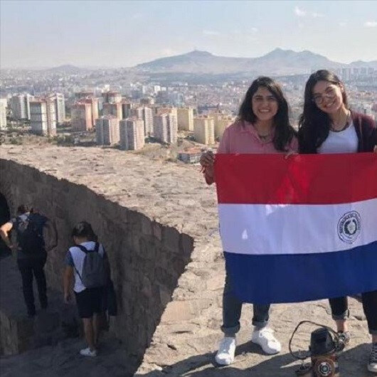 Paraguayan students urge compatriots to discover Turkey