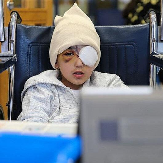 """القدس.. رصاصة إسرائيلية تغيّر مجرى حياة الطفل الفلسطيني """"مالك"""""""