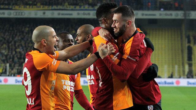 Fenerbahçe-Galatasaray: 1-3