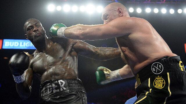 Ağır sıklet unvan maçının galibi Tyson Fury