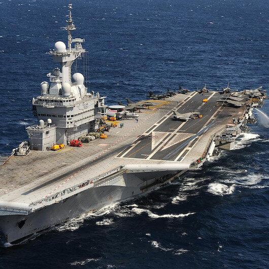 Fransa uçak gemisini Kıbrıs'a gönderdi, ABD üs inşa etmeye başladı