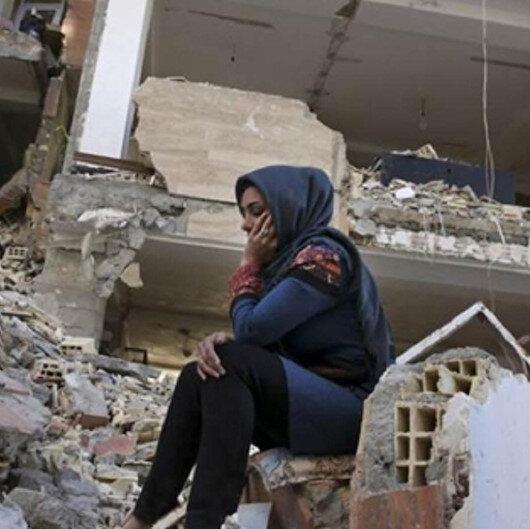 طهران تكشف عن أعداد المصابين بزلزالي إيران