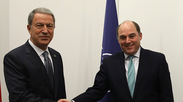 File photo: Turkish, UK defense chiefs