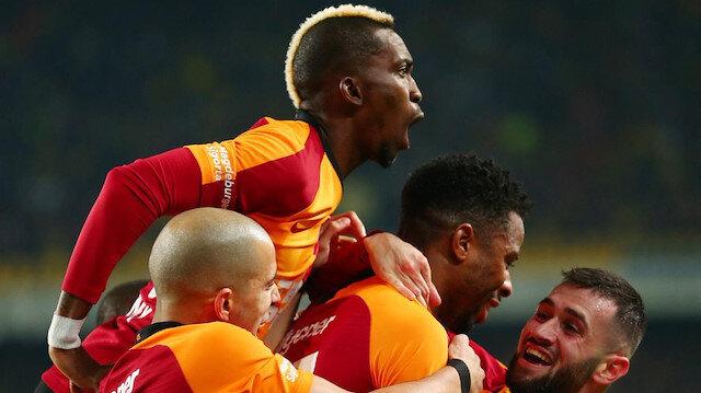 Galatasaray <br>Cengiz'le coşuyor