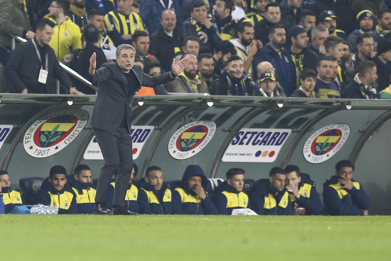 Fenerbahçe'nin Galatasaray derbisindeki yedek kulübesi