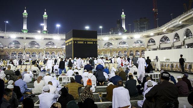 File photo: Muslims perform Umrah in Mecca