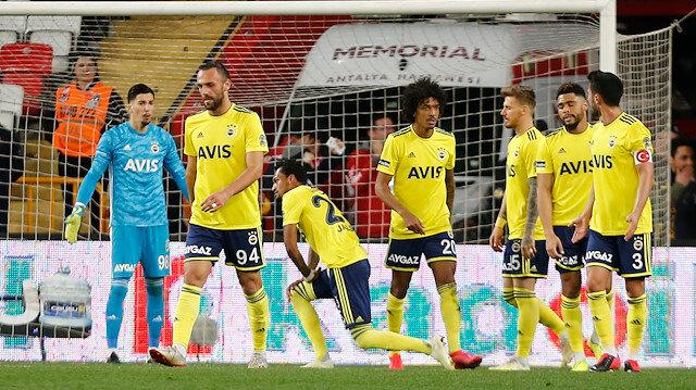 Antalyaspor-Fenerbahçe: 2-2