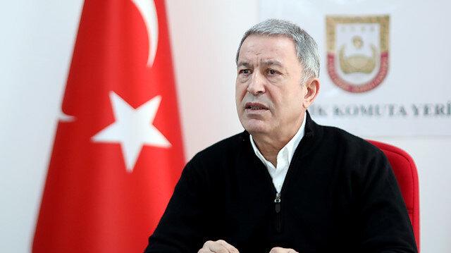 Turkish National Defense Minister Hulusi Akar