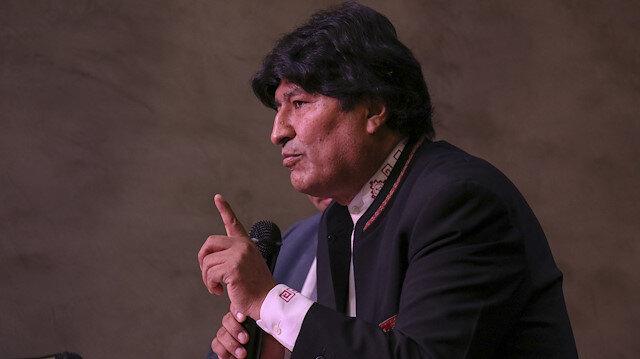 Bolivian former president Evo Morales