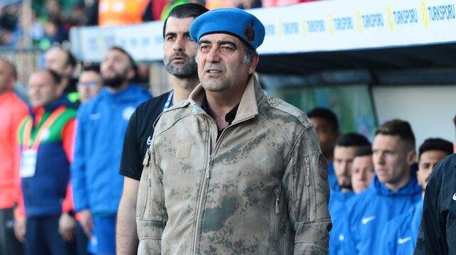 Rizesporlu futbolcular ve Ünal Karaman'dan Mehmetçik'e destek