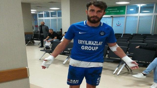 3. Lig'de skandal: Soyunma odasını basıp futbolcuları bıçakladılar