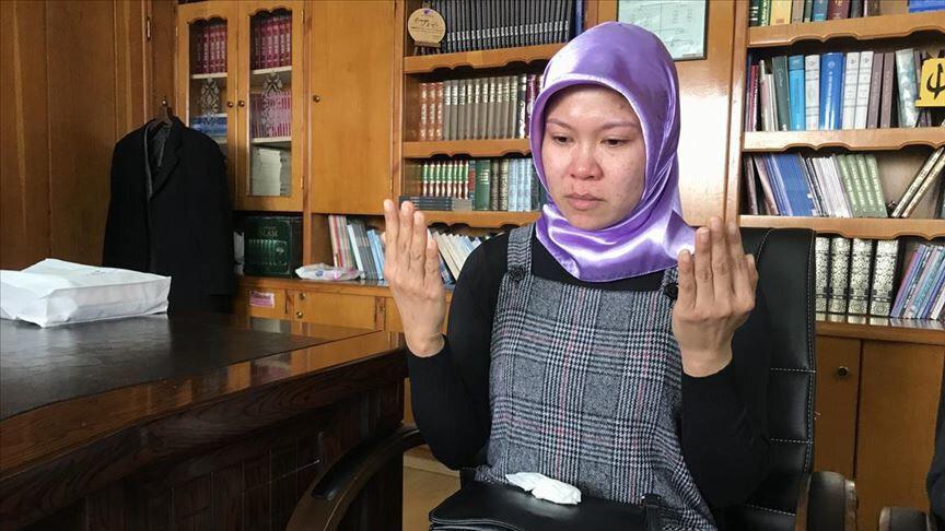 Филиппинка приняла Ислам в Турции