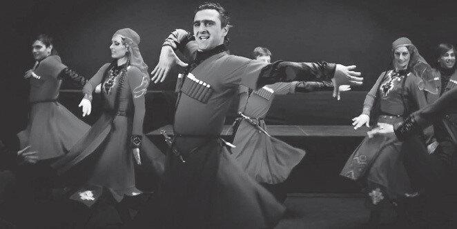 Gürcistan Devlet Halk Dansları