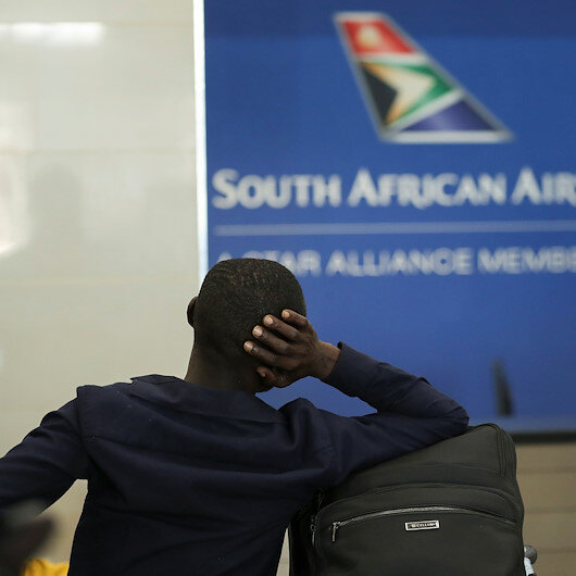 S. African Airways suspends int'l flights over COVID-19