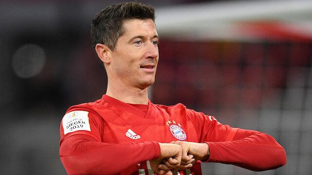 Lewandowski'den korona ile mücadeleye yüklü bağış