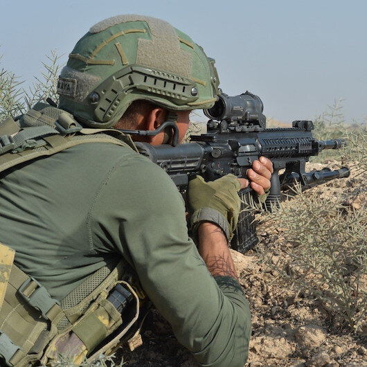Barış Pınarı bölgesine sızma girişimindeki 6 terörist etkisiz hale getirildi