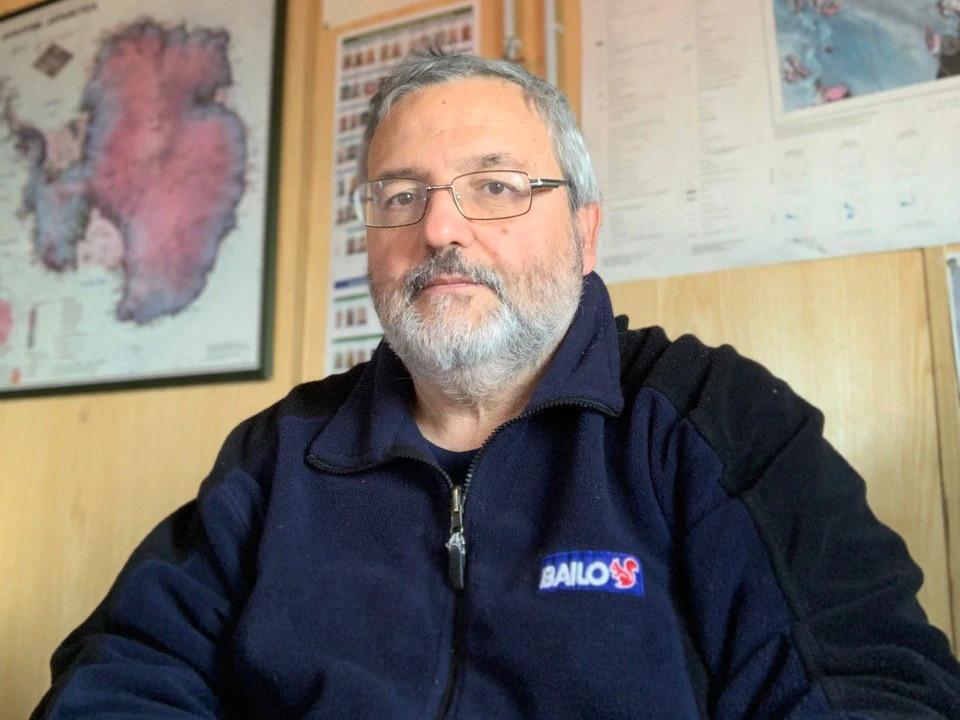 Alberto Della Rovere, 35. İtalyan Antarktika seferi lideri