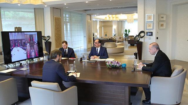 أردوغان يعقد إجتماعا تشاوريا حول الإصلاح القضائي