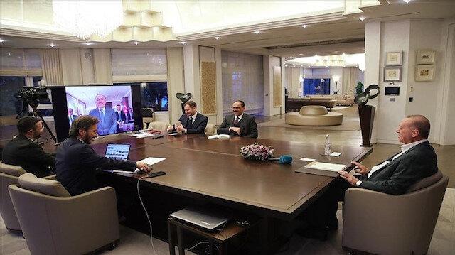 تركيا.. الرئيس أردوغان يجتمع بالحكومة عبر دائرة تلفزيونية