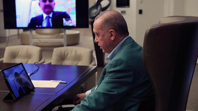 """كورونا.. أردوغان يجتمع بقيادات """"العدالة والتنمية"""" في إسطنبول"""
