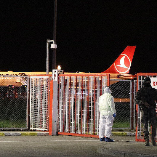 COVID-19: Over 2,700 Turkish students arrive home