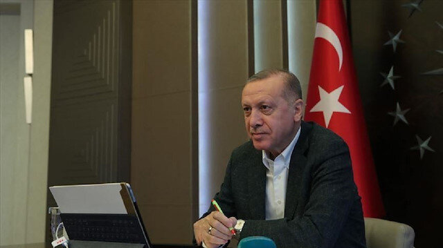 """أردوغان يشارك بقمة العشرين الاستثنائية حول """"كورونا"""