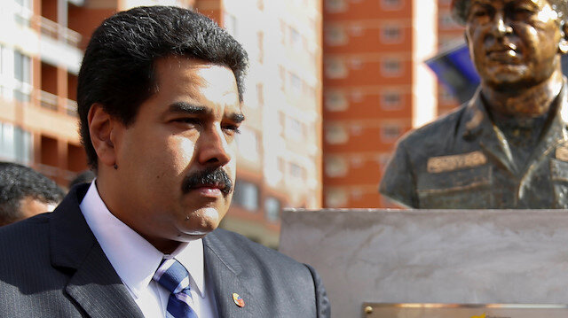 Venezuela's elected President Nicolas Maduro