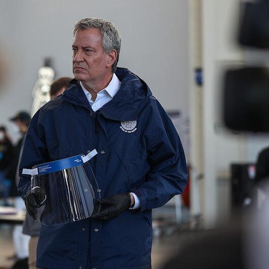 NYC mayor says coronavirus crisis may last into May